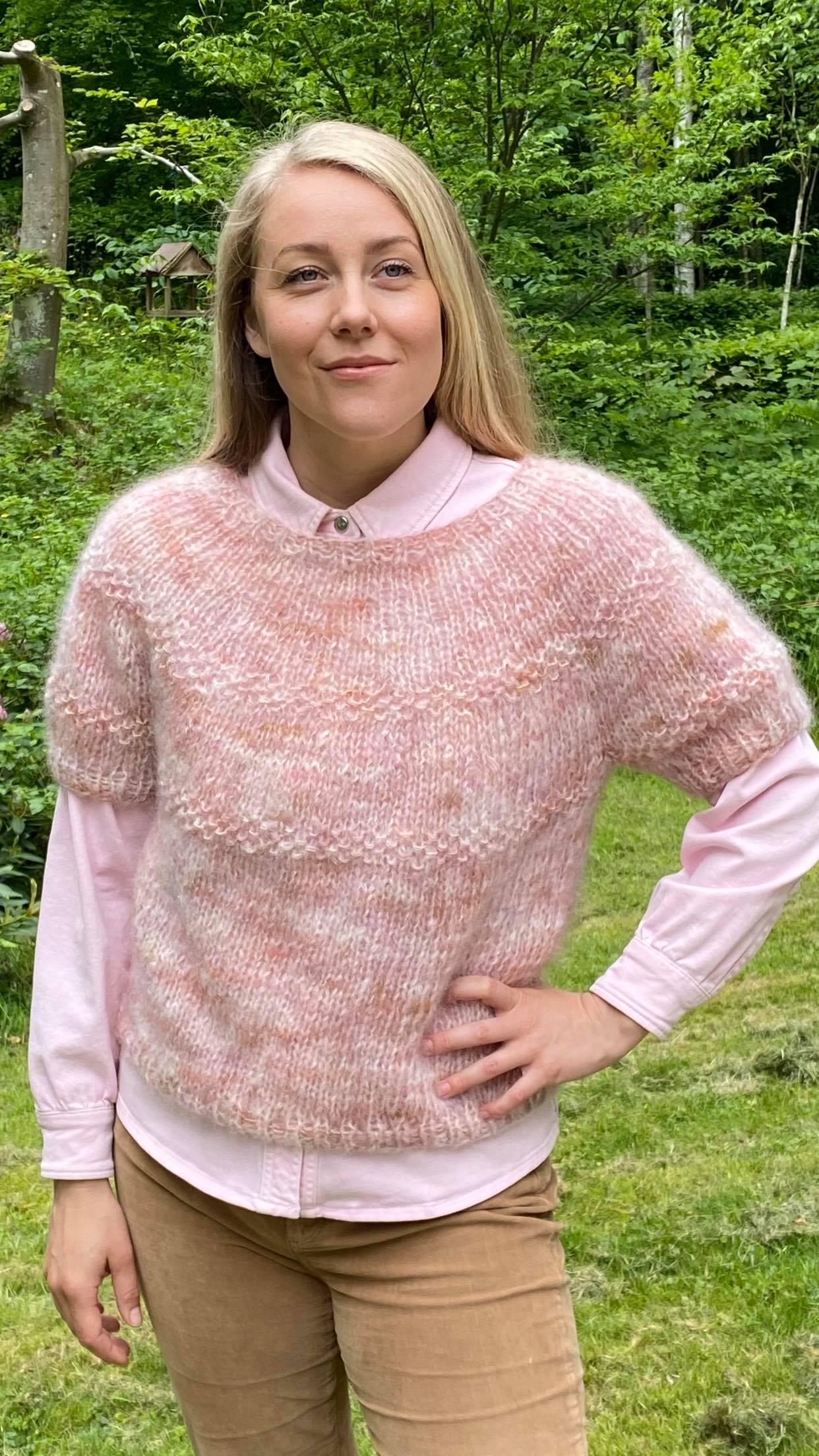 Unika bluse i mohair rosie