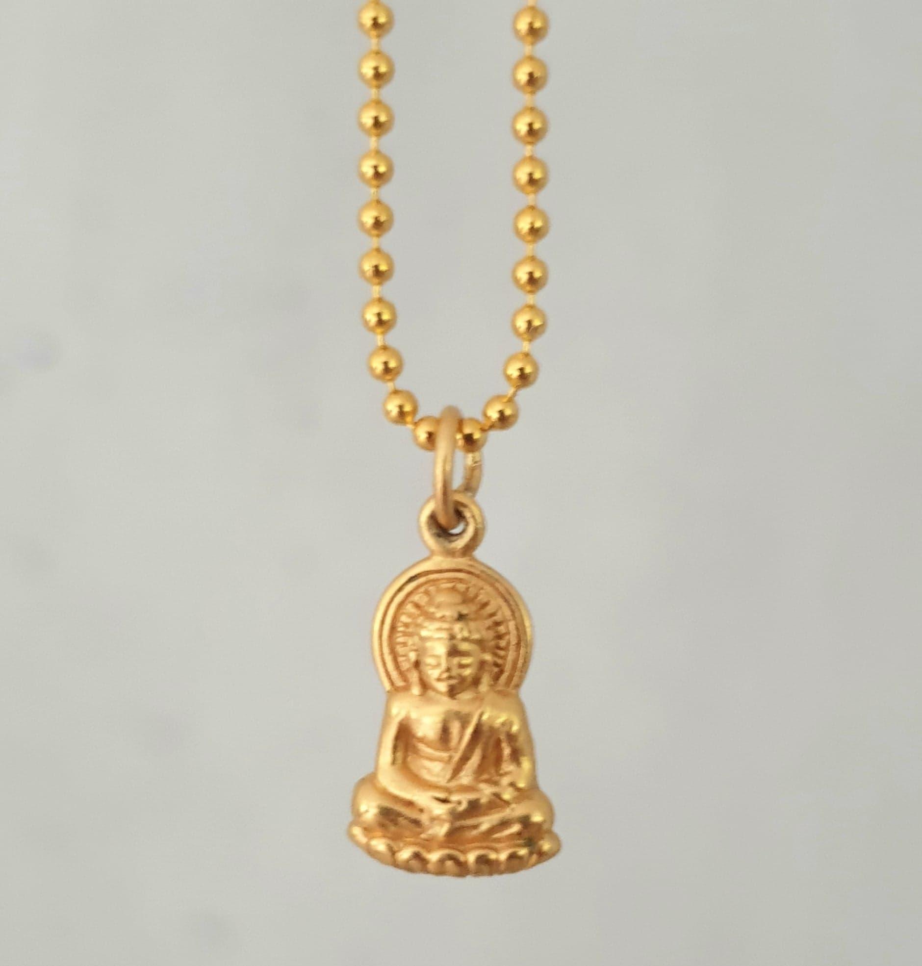 Kugle kæde med Buddha