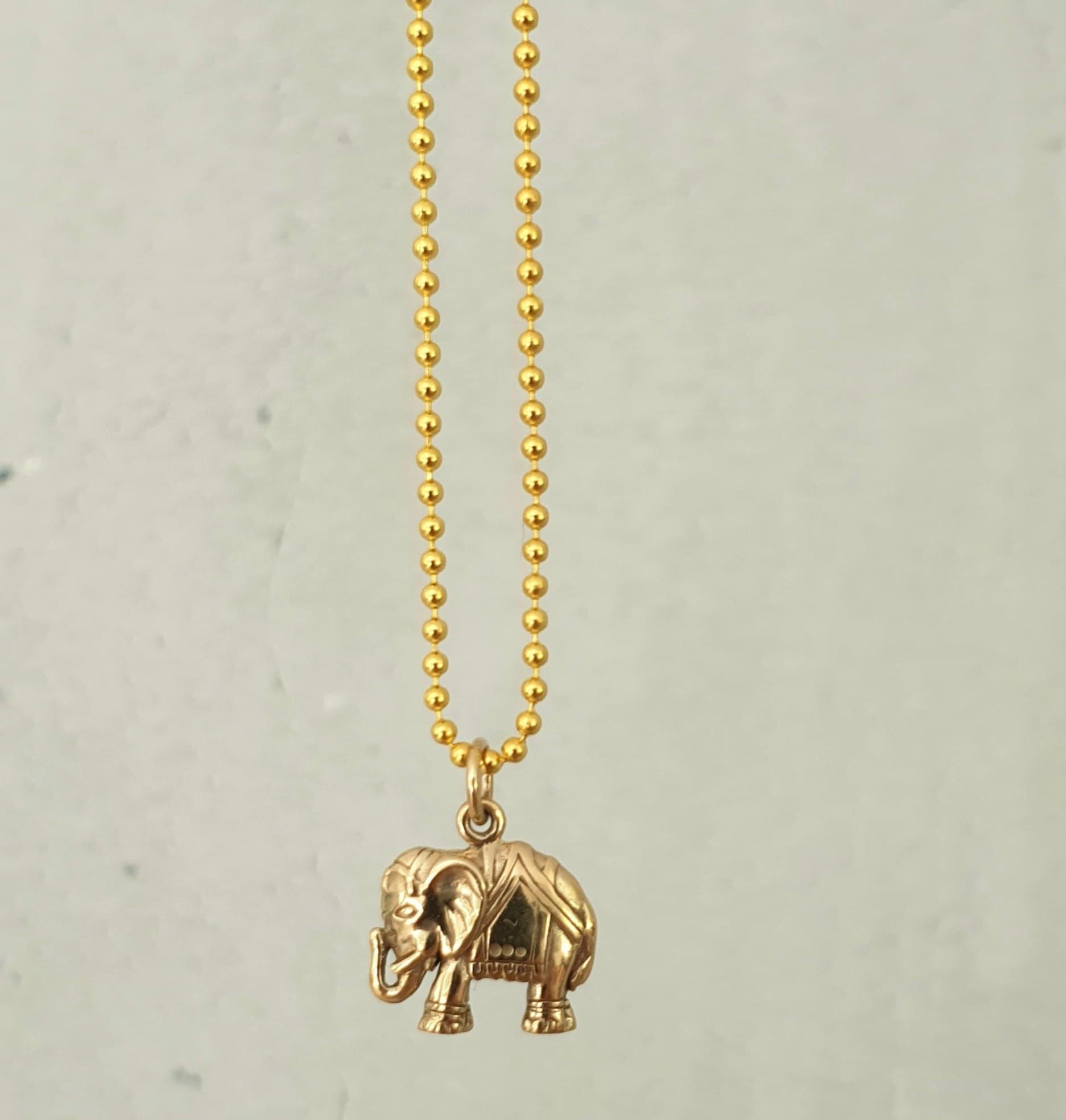 Kugle kæde med elefant
